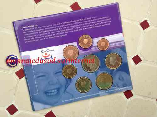 Coffret BU 1 Cent à 2 Euro Pays-Bas 1999 - Brillant Universel Officiel