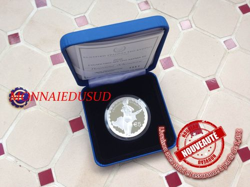 5 Euro BE Argent Chypre 2015 - Aphrodite