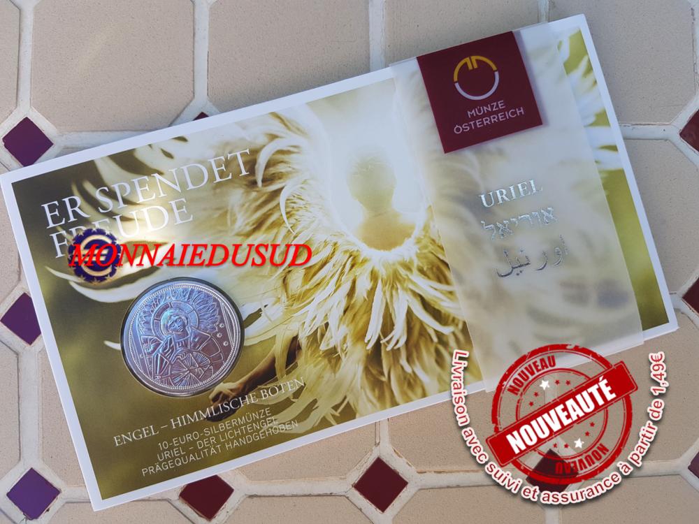 Coincard 10 Euro Argent Autriche 2018 Bu Uriel Lange Protecteur