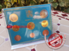 Coffret BU 1 Cent à 2 Euro Vatican 2019 - Brillant Universel Officiel