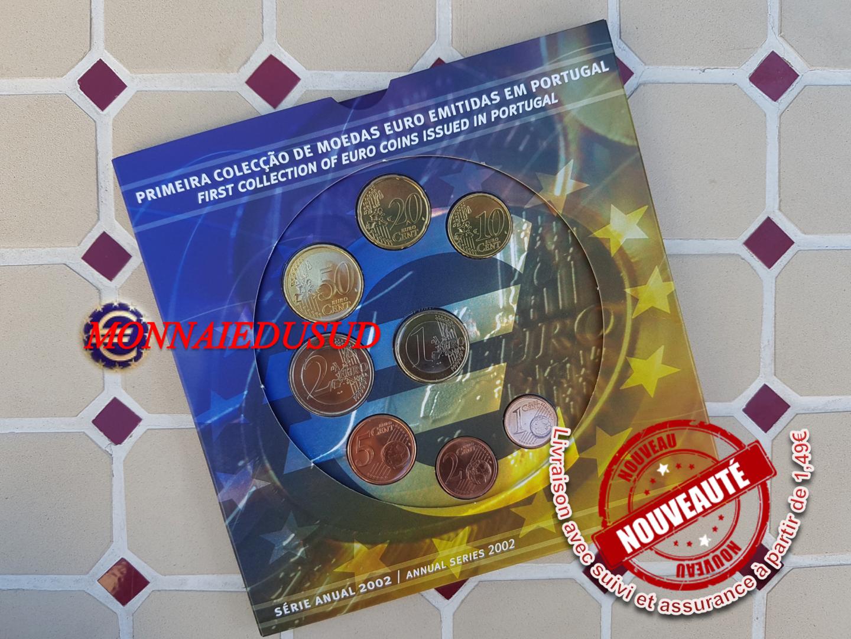 Coffret-BU-1-Cent-a-2-Euro-Portugal-2002-Coffret-Officiel