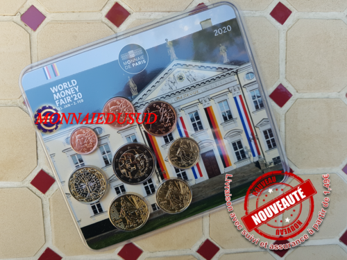 Coffret BU 1 Cent à 2 Euro France 2020 - World Money Fair